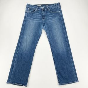 AG 32 Jeans Simona Easy Straight Leg Boyfriend